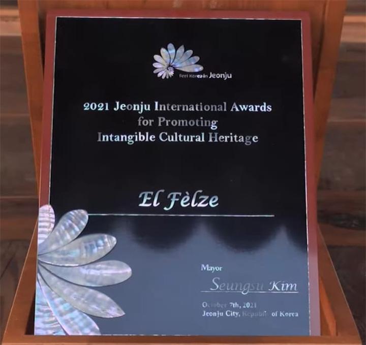 Premio Korea 2021